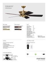 craftmade 2021年欧美室内风扇灯设计目录。-2813002_灯饰设计杂志