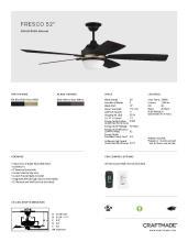 craftmade 2021年欧美室内风扇灯设计目录。-2813003_灯饰设计杂志