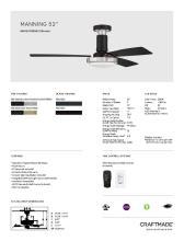 craftmade 2021年欧美室内风扇灯设计目录。-2813005_灯饰设计杂志