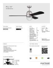 craftmade 2021年欧美室内风扇灯设计目录。-2813008_灯饰设计杂志