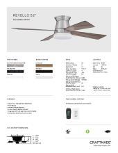 craftmade 2021年欧美室内风扇灯设计目录。-2813010_灯饰设计杂志