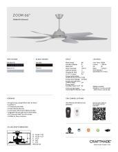 craftmade 2021年欧美室内风扇灯设计目录。-2813012_灯饰设计杂志