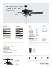 craftmade 2021年欧美室内风扇灯设计目录。-2813014_灯饰设计杂志