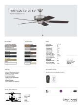 craftmade 2021年欧美室内风扇灯设计目录。-2813013_灯饰设计杂志