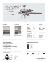 craftmade 2021年欧美室内风扇灯设计目录。-2813017_灯饰设计杂志