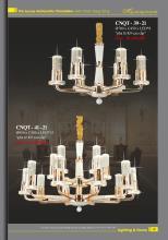 home lighting 2021年欧美室内水晶蜡烛吊灯-2833314_灯饰设计杂志