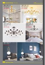 home lighting 2021年欧美室内水晶蜡烛吊灯-2833320_灯饰设计杂志