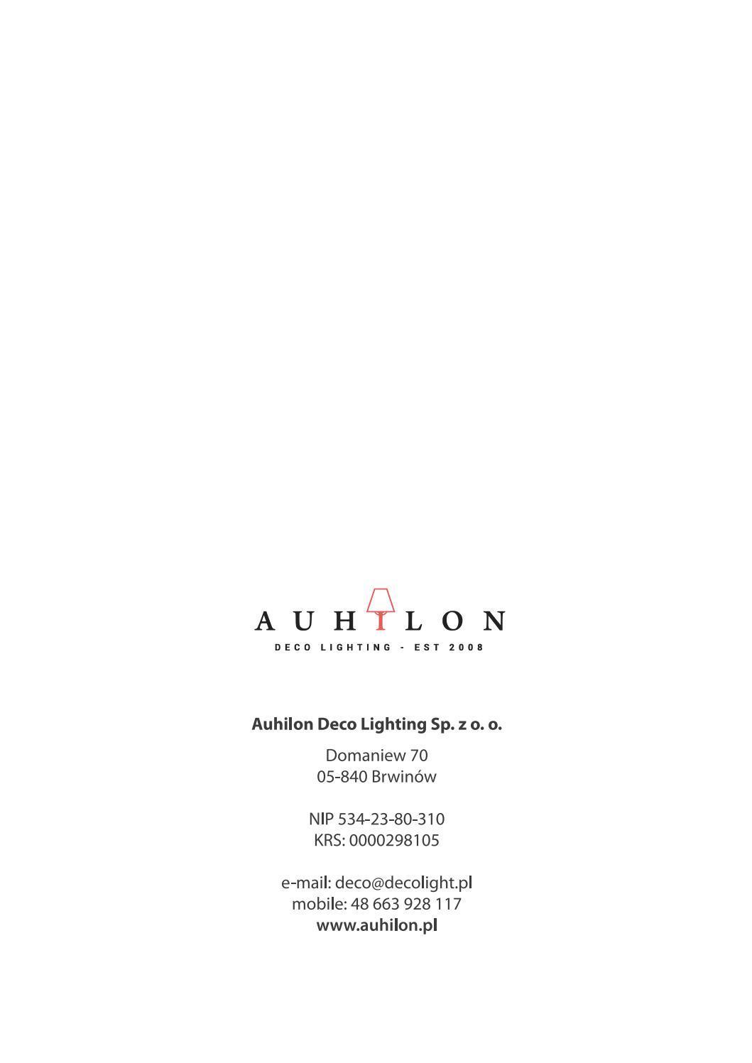 AUHLON Lighting